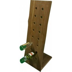 Teak Wijnrek 'Wine rack 16'