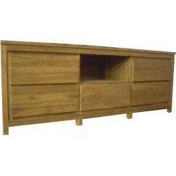 Teak TV dressoir 'Dordrecht' 160 cm