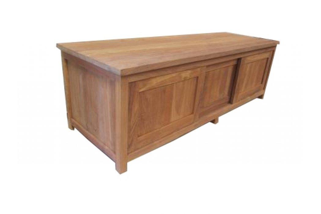 teak tv dressoir 39 ben 39 200 cm. Black Bedroom Furniture Sets. Home Design Ideas