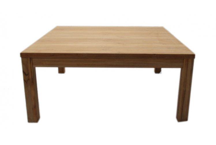 teak bloktafel 39 amsterdam 39 100 cm. Black Bedroom Furniture Sets. Home Design Ideas
