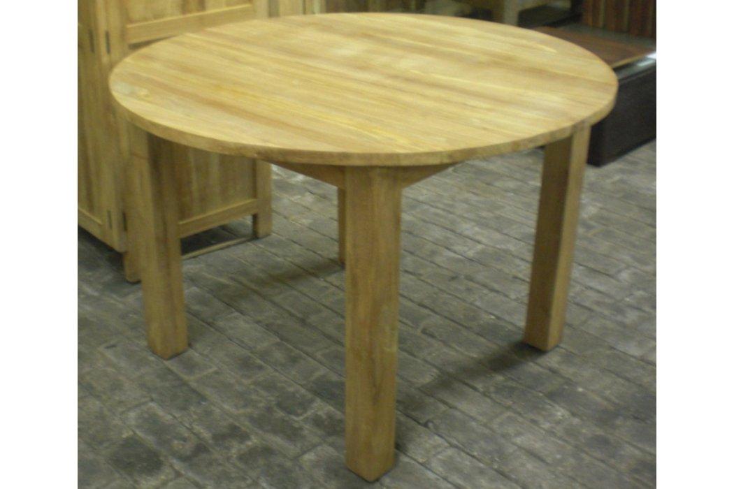 Eettafel rond 160 cm Teak24