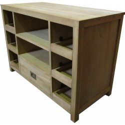 Teak TV dressoir / TV kast 'Brussel' 93 cm