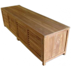 Teak TV dressoir / TV kast 'Louvre' 200 cm breed