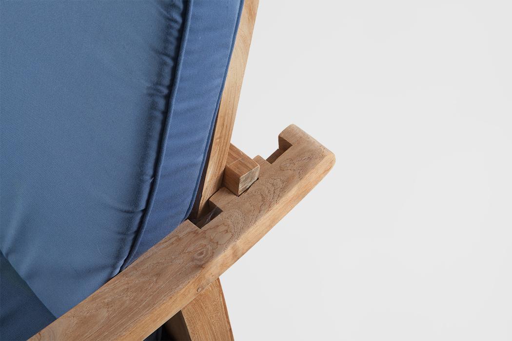 teak rookstoel tiem. Black Bedroom Furniture Sets. Home Design Ideas